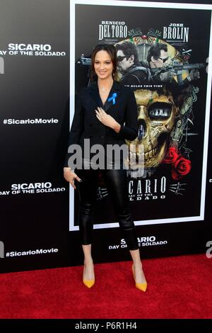 Ruby Modine at arrivals for SICARIO: DAY OF THE SOLDADO Premiere, Regency Village Theatre - Westwood, Los Angeles, CA June 26, 2018. Photo By: Priscilla Grant/Everett Collection - Stock Photo