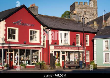 Welsh Gold Centre Tregaron Ceredigion Wales - Stock Photo