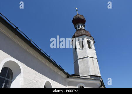 Filialkirche St. Andreas bei Bad Endorf Chiemgau Chiemsee - Stock Photo