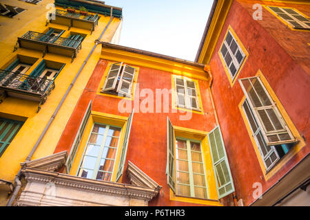 Nice, Alpes-Maritimes, Provence-Alpes-Cote D'Azur, French Riviera, France - Stock Photo