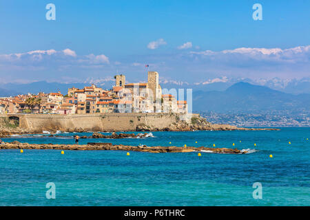 Antibes, Alpes-Maritimes department, Provence-Alpes-Cote d'Azur, French Riviera, France - Stock Photo