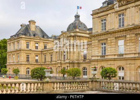 Palais du Luxembourg, Paris, France - Stock Photo