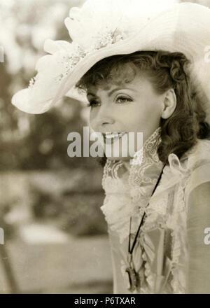 Actress Greta Garbo is Anna Karenina, 1935 - Stock Photo