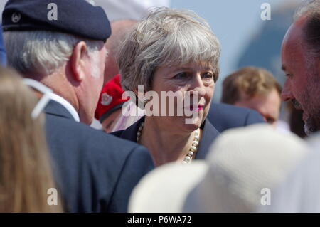 Theresa May, British Prime Minister - Stock Photo