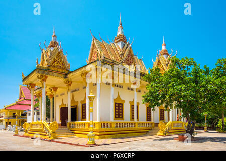 Wat Krom, Sihanoukville, Preah Sihanouk Province, Cambodia - Stock Photo