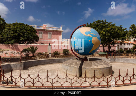 Africa, Cape Verde, Sao Vicente. Mindelo, capital of Sao Vicente. - Stock Photo