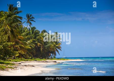 Dominican Republic, Punta Cana, Parque Nacional del Este, Saona Island, Catuano Beach - Stock Photo