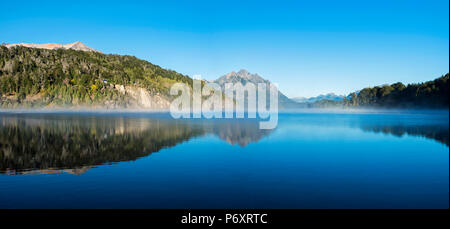 South America, Argentina, Patagonia, Rio Negro, Nahuel Huapi National Park landscape - Stock Photo