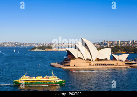 Sydney Opera House, Darling Harbour, Sydney, New South Wales, Australia - Stock Photo