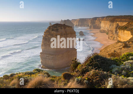 Twelve Apostles, Port Campbell National Park, Great Ocean Road, Victoria, Australia - Stock Photo