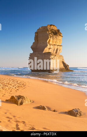 Beach at Gibson Steps, Port Campbell National Park, Great Ocean Road, Victoria, Australia - Stock Photo