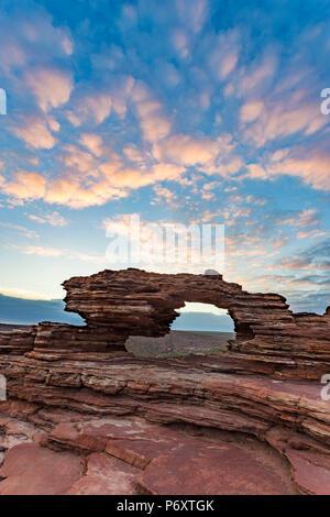 Kalbarri National Park, Natural Window. Western Australia - Stock Photo
