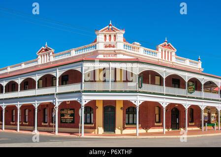 York, Shire of York, Wheatbelt state, Western Australia, Australia. The heritage buildings of the Gold Rush. - Stock Photo