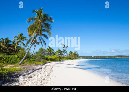 Bahamas, Abaco Islands, Elbow Cay, Tihiti beach - Stock Photo