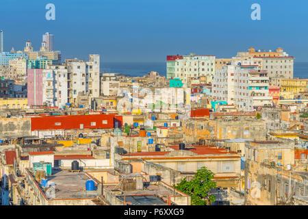 Cuba, Havana, Centro Habana - Stock Photo