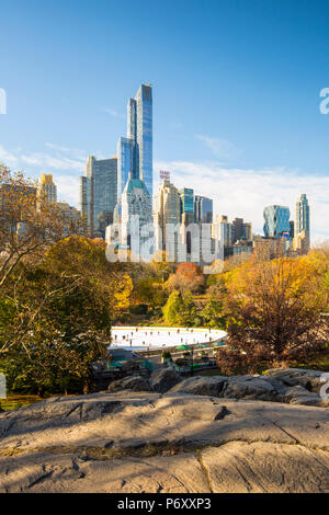 Central Park, Manhattan, New York City, USA - Stock Photo