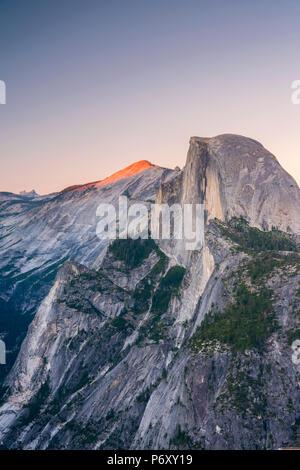 USA, California, Yosemite National Park, Half Dome - Stock Photo