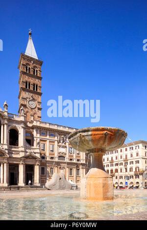Italy, Rome, Santa Maria Maggiore church - Stock Photo
