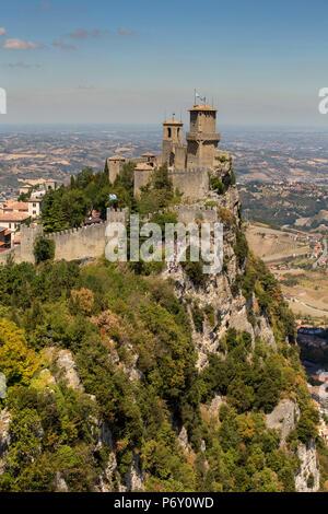 Republic of San Marino, Repubblica di San Marino San Marino - Stock Photo