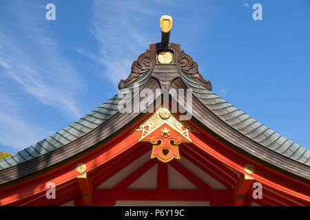 Ikuta Jinja shrine, Kobe, Kansai, Japan - Stock Photo