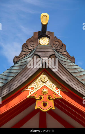 Ikuta Jinja shrine, Kobe, Kansai, Japan - Stock Photo