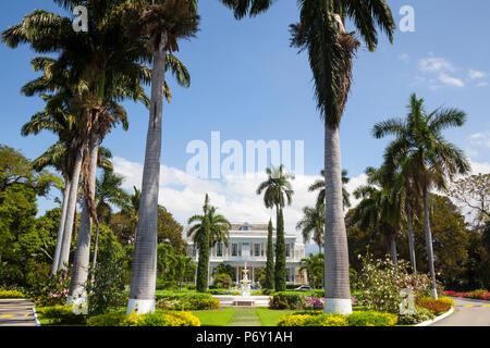 Devon House, Kingston, St. Andrew Parish, Jamaica, Caribbean - Stock Photo