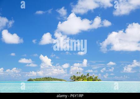 Tropical island, South Male Atoll, Kaafu Atoll, Maldives
