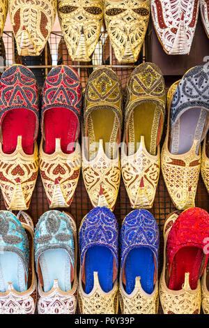 Slippers, Dubai, United Arab Emirates - Stock Photo