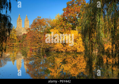 USA, New York City, Manhattan, Central Park - Stock Photo
