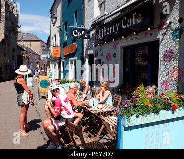 Liberty Cafe, Carlingford - Stock Photo