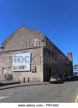 Exterior of Verdant Works Jute Mill Museum Dundee Scotland  July 2018 - Stock Photo