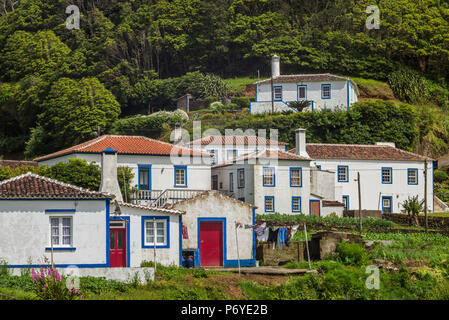 Portugal, Azores, Santa Maria Island, Santa Barbara - Stock Photo