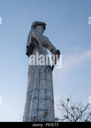 Mother of Georgia statue, Tbilisi - Stock Photo