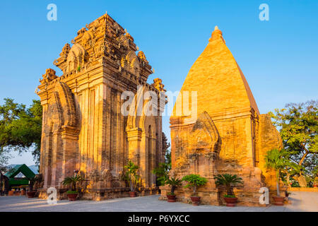Po Nagar temple Cham towers, Nha Trang, Khanh Hoa Province, Vietnam - Stock Photo