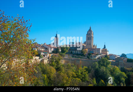 Overview. Segovia, Spain. - Stock Photo