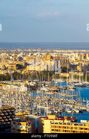 Palma de Mallorca, Mallorca, Balearic Islands, Spain - Stock Photo