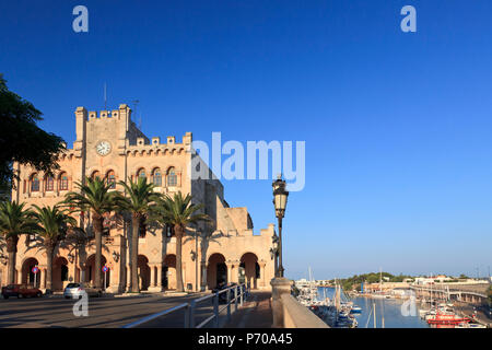 Spain, Balearic Islands, Menorca, Ciutadella, Old Town - Stock Photo