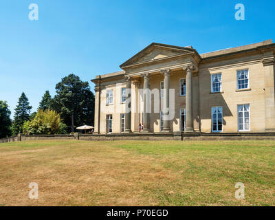 The Mansion in Roundhay Park Roundhay Leeds West Yorkshire England - Stock Photo