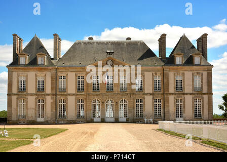Haras (stud farm) National du Pin, created in 1715, Le Pin-au-Haras, Orne, Normandy, France, Europe - Stock Photo