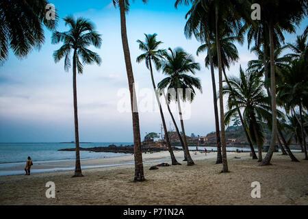 Port Blair, Andaman and Nicobar Islands / India - 03/14/2016 Beach at Andaman and Nicobar Island - Stock Photo
