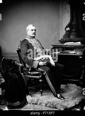 fr:Luc Letellier de Saint-Just, lieutenant-gouverneur du Québec . March 1879 12 Luc Letellier de Saint-Just - Stock Photo