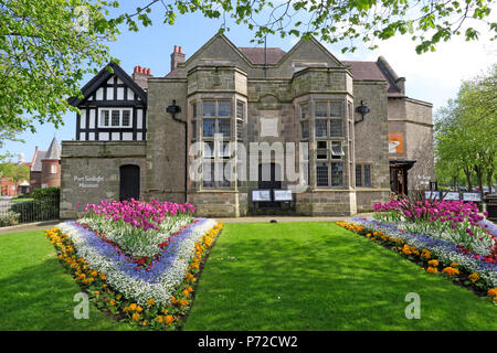 Port Sunlight Museum, Port Sunlight Village, Lower Rd, Bebington, Wirral, North West England, UK,  CH62 5EQ - Stock Photo