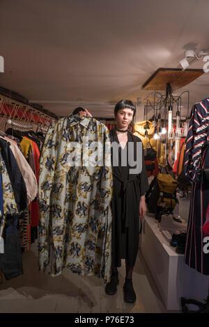 Henrik Vibskov store Copenhagen - Stock Photo
