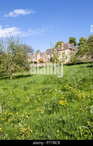 Snowshill Manor in the Cotswold village of Snowshill, Gloucestershire UK - Stock Photo