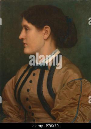 . Eliza Eastlake  1864 18 Edward John Poynter - Eliza Eastlake - - Stock Photo