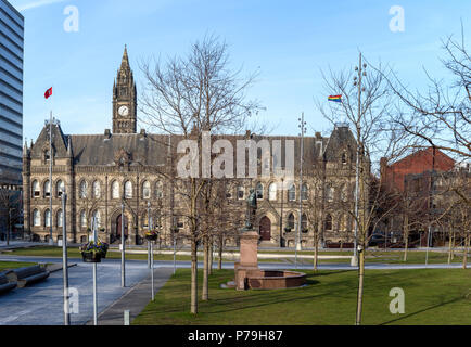 Town hall of Middlesbrough city , Teeside UK - Stock Photo