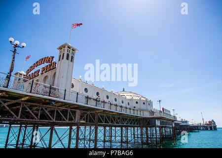 Brighton Palace Pier - Stock Photo