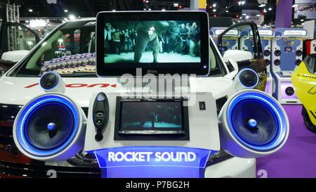 BANGKOK JULY Modified Car Show At Bangkok International Auto - Car show display accessories