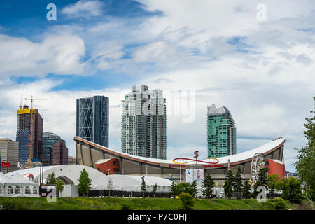 Calgary Alberta Canada July 02 2018 Calgary Stamped