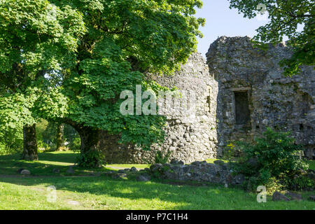 Old Inverlochy Castle near Fort William. - Stock Photo
